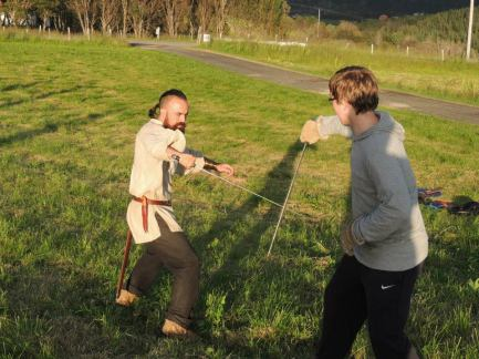 Combat Archaeology Session, Lofoten, 2014