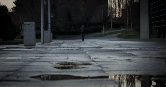 A the undergrads leave for there exams in the RDS, leaving campus somewhat of a wasteland :(