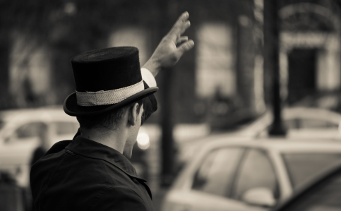 Whats Christmas without a Gentleman in a top hat?!