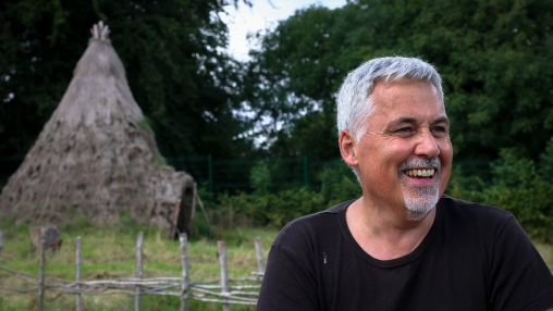 Prof. Aidan O'Sullivan at UCD Centre for Experimental Archaeology