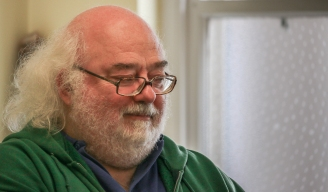 My Supervisor,Dr. Alan Peatfeald