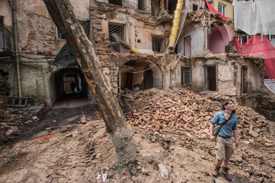Rescue Excavation in Timișoara, Romania